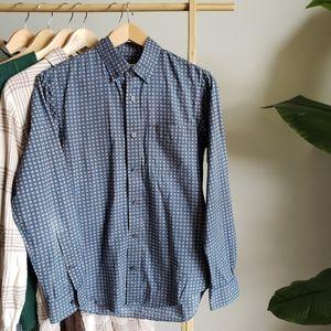 CLUB MONACO Printed Dress Shirt